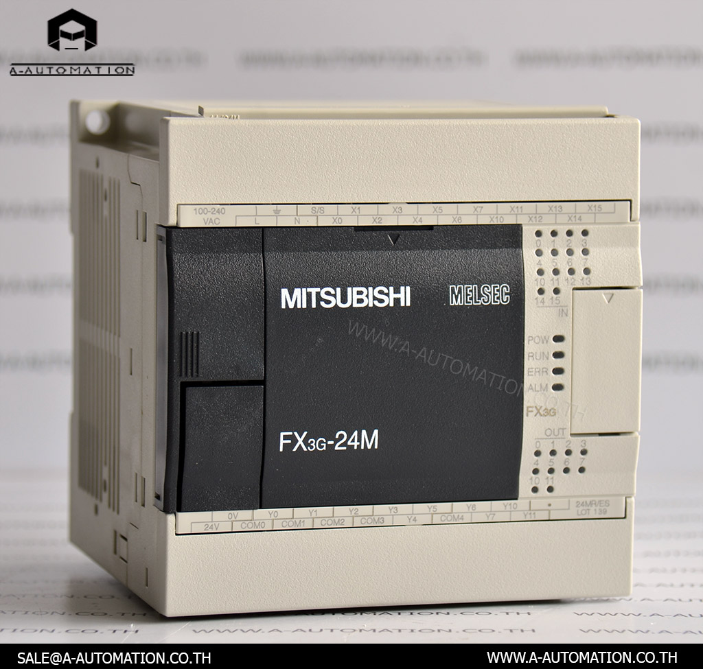 PLC MODEL:FX3G-24MR/ES [MITSUBISHI]