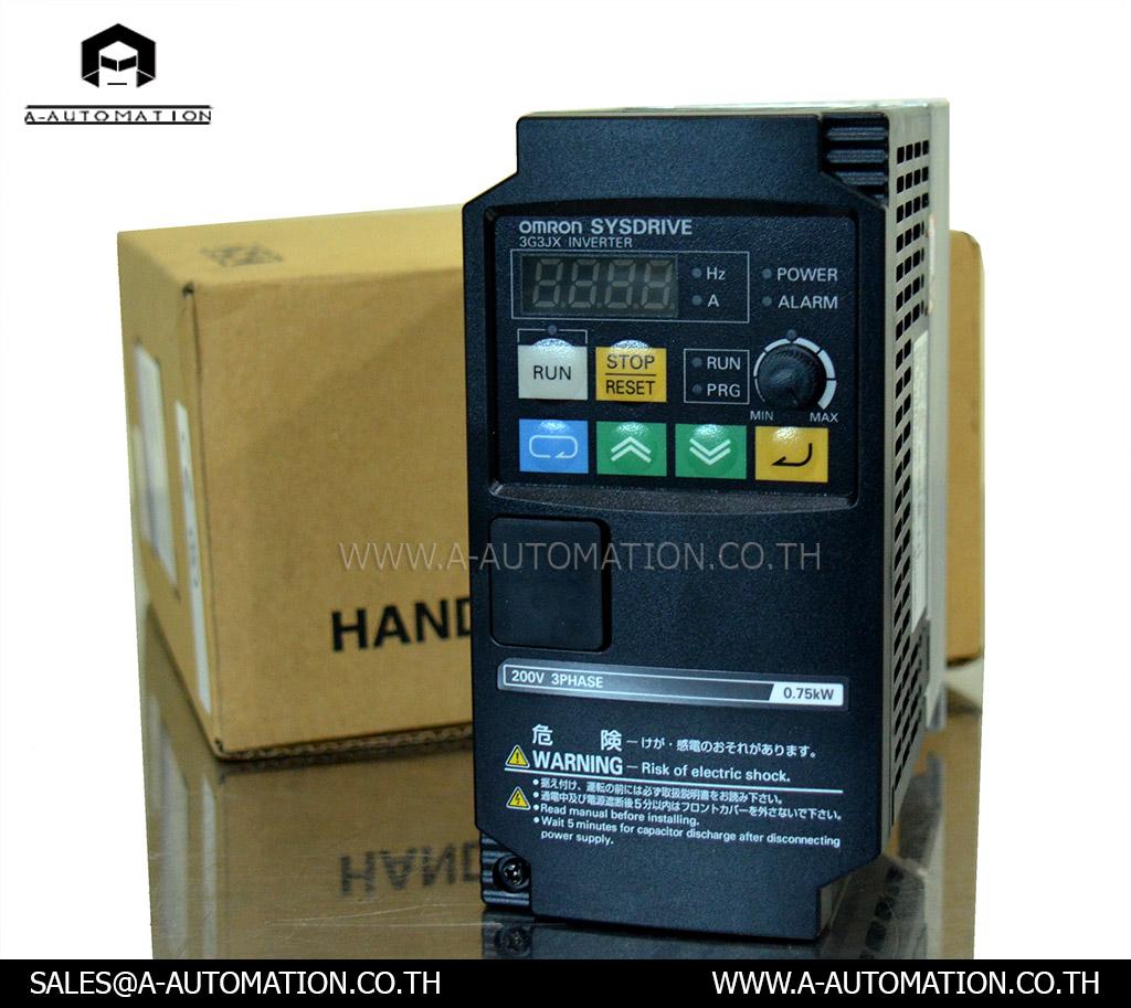 Inverter Omron Model:3G3JX-A2007