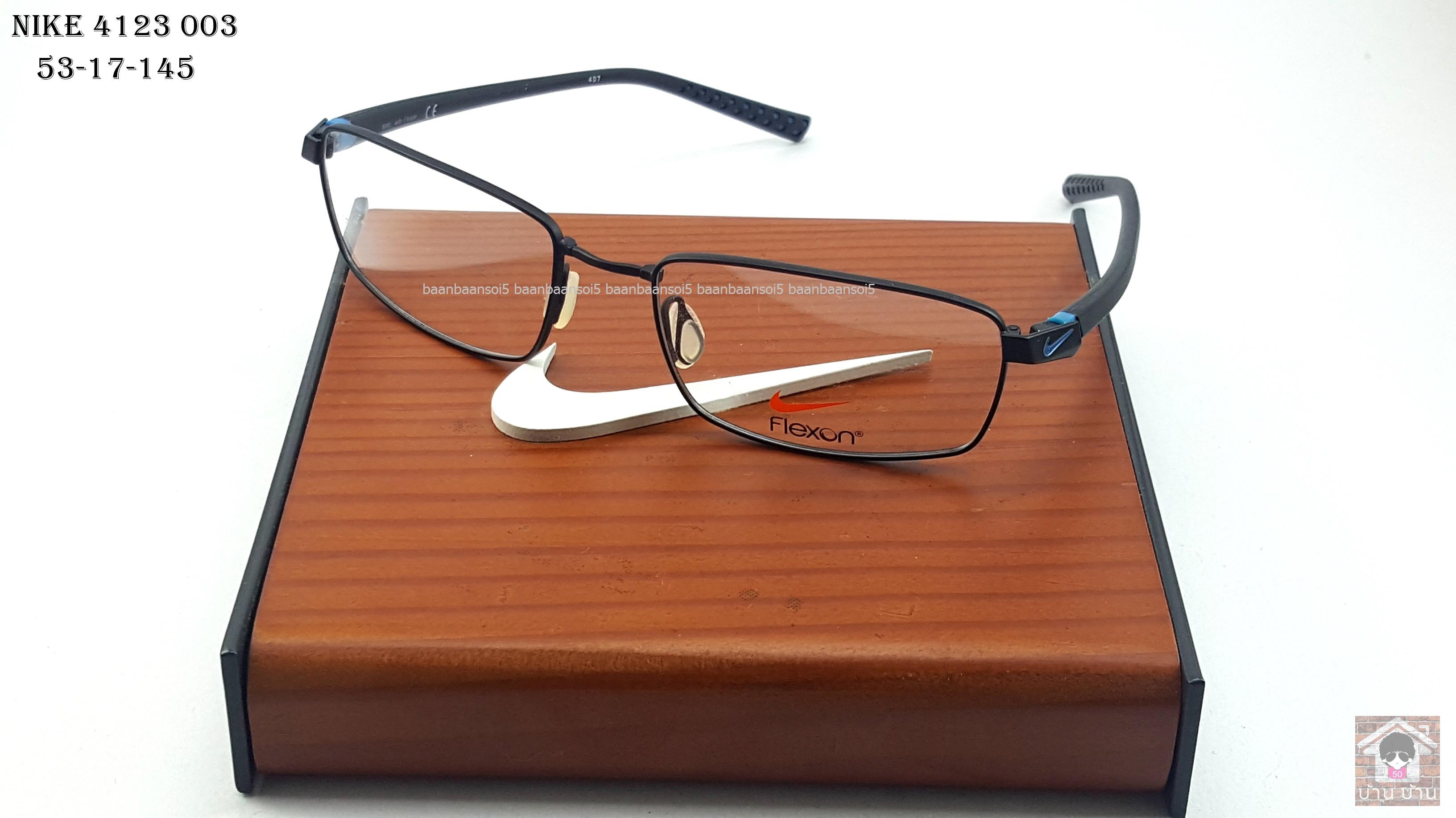 NIKE BRAND ORIGINALแท้ Flexon 4213 003 กรอบแว่นตาพร้อมเลนส์ มัลติโค๊ตHOYA ป้องกันรังสีคอม 5,200 บาท