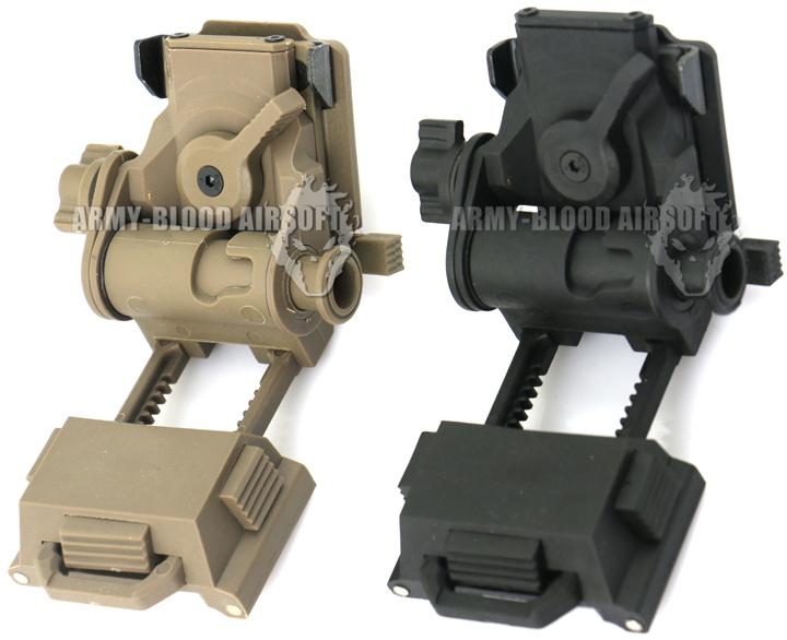 New.Wilcox L4G24 Style NVG Mount Plastic Version (BK-DE) ราคาพิเศษ
