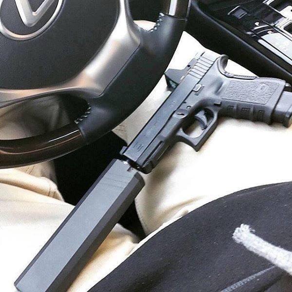 New.ที่เก็บเสียงปืนสั้น GLOCK