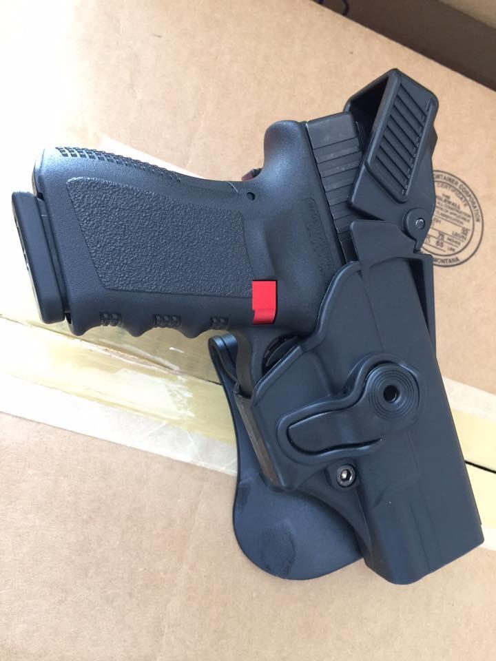 https://youtu.be/VsWr5B01xGQ New.ซองปืนสั้น พกนอก / ซองแม็กคู่ imi Glock 17 / 19 / 26 ราคาพิเศษ