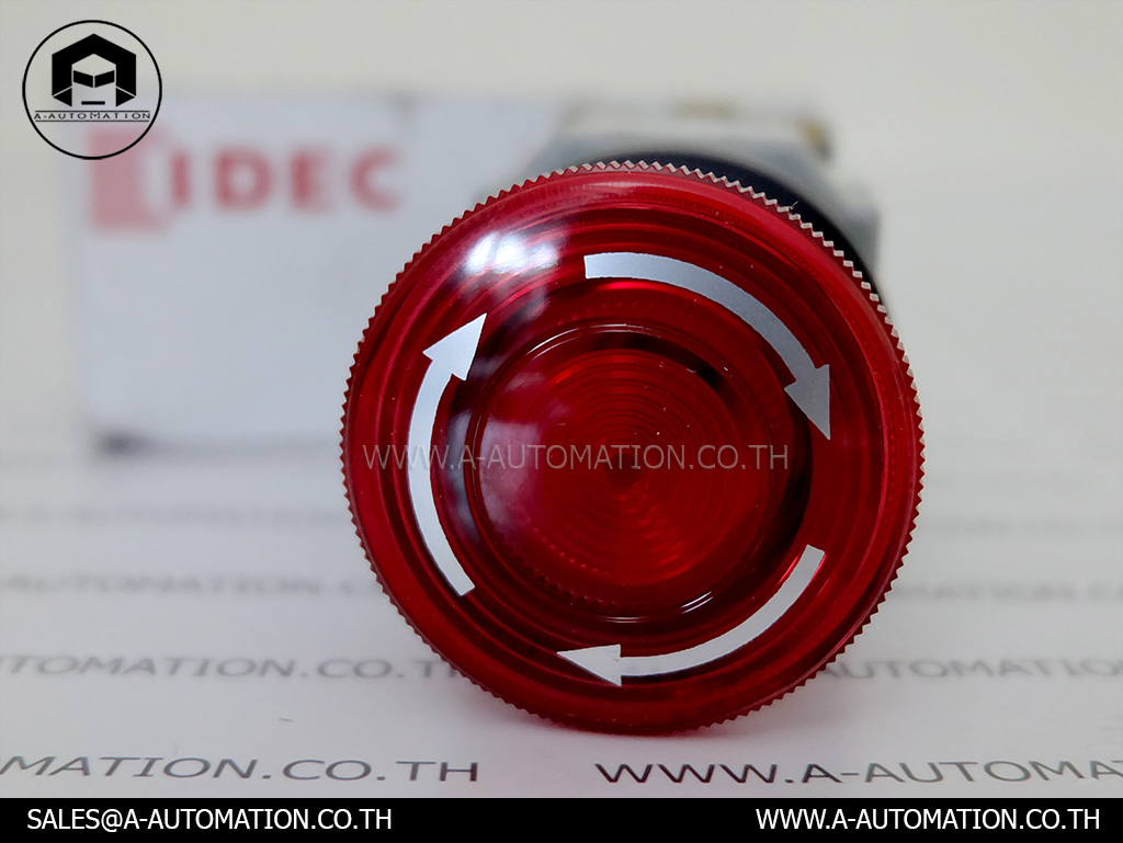 Push Button Idec Model:AVLN39911N-R (สินค้าใหม่)