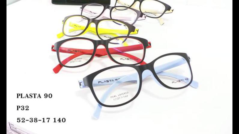 PLASTA P32 โปรโมชั่น กรอบแว่นตาพร้อมเลนส์ HOYA ราคา 2200 บาท