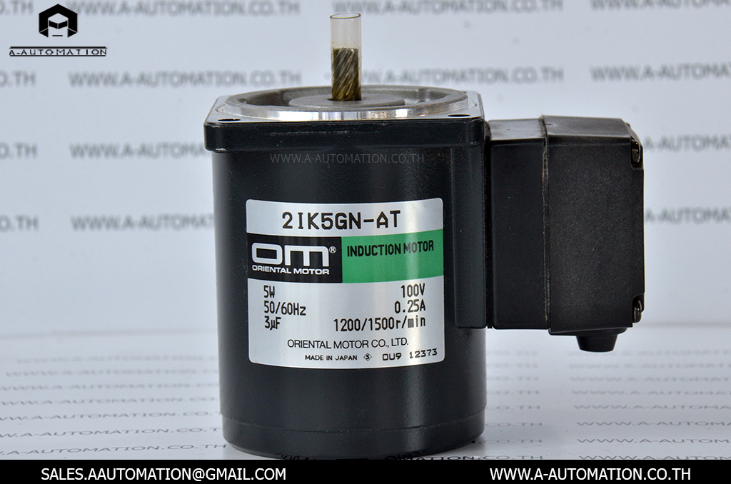 INDUCTION MOTOR MODEL:2IK5GN-AT [5W/100V][ORIENTAL MOTOR]