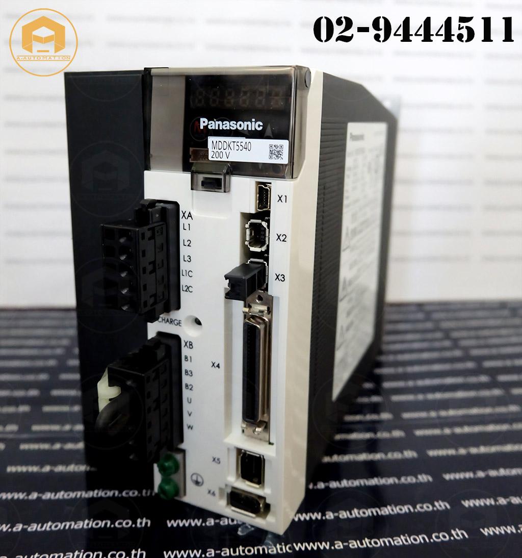 Servo Panasonic Model:MDDKT5540 (สินค้าใหม่)