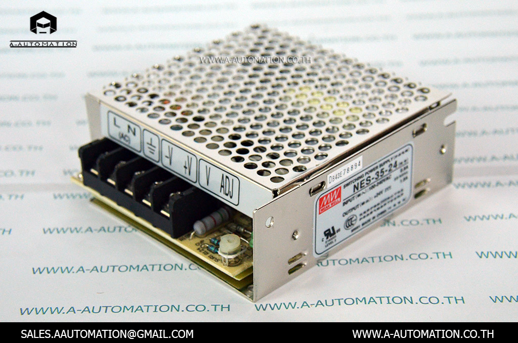 POWER SUPPLY MODEL:NES-35-24 [MEAN WELL]