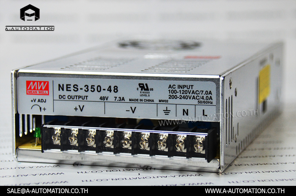 POWER SUPLLY MODEL:NES-350-48 [MEAN WELL]