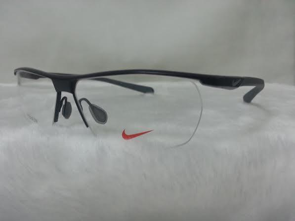 NIKE BRAND ORIGINALแท้ TITAUIUM 6055/1 002 กรอบแว่นตาพร้อมเลนส์ มัลติโค๊ตHOYA ป้องกันรังสีคอม 7,200 บาท