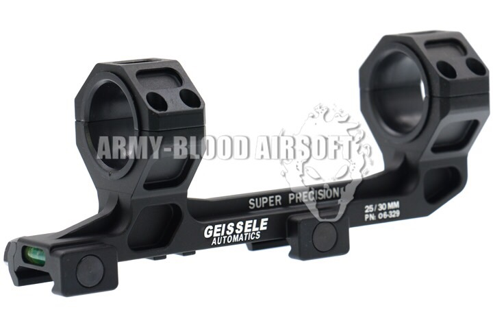 New.Geissele Super Precision Big Bertha Scope Mounts -Manufacturer: Made in China - Built Material: Aluminum -Major Color: Black / Tan -Inner Diameter: 30mm (25mm) ราคาพิเศษ