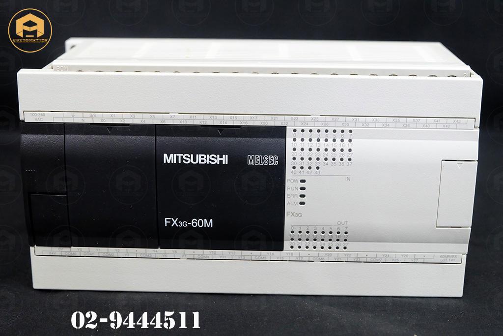 ขายPlc Plc Mitsubishi Model:FX3G-60MR/ES (สินค้าใหม่)