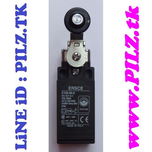 E100-00-II Bremas ERSCE Limit Switch LiNE iD PILZ.TK