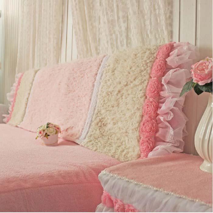 Pre-Order ผ้าคลุมหัวเตียงเจ้าหญิง