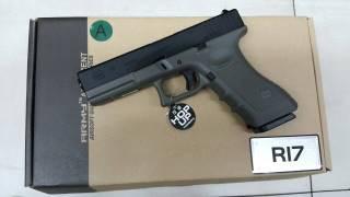 New.Army Glock17 สีดำ สีทราย สีเขียว ราคาพิเศษ