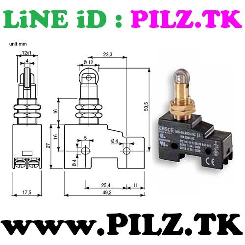 M3-05-NO-NC Bremas ERSCE Limit Switch LiNE iD PILZ.TK