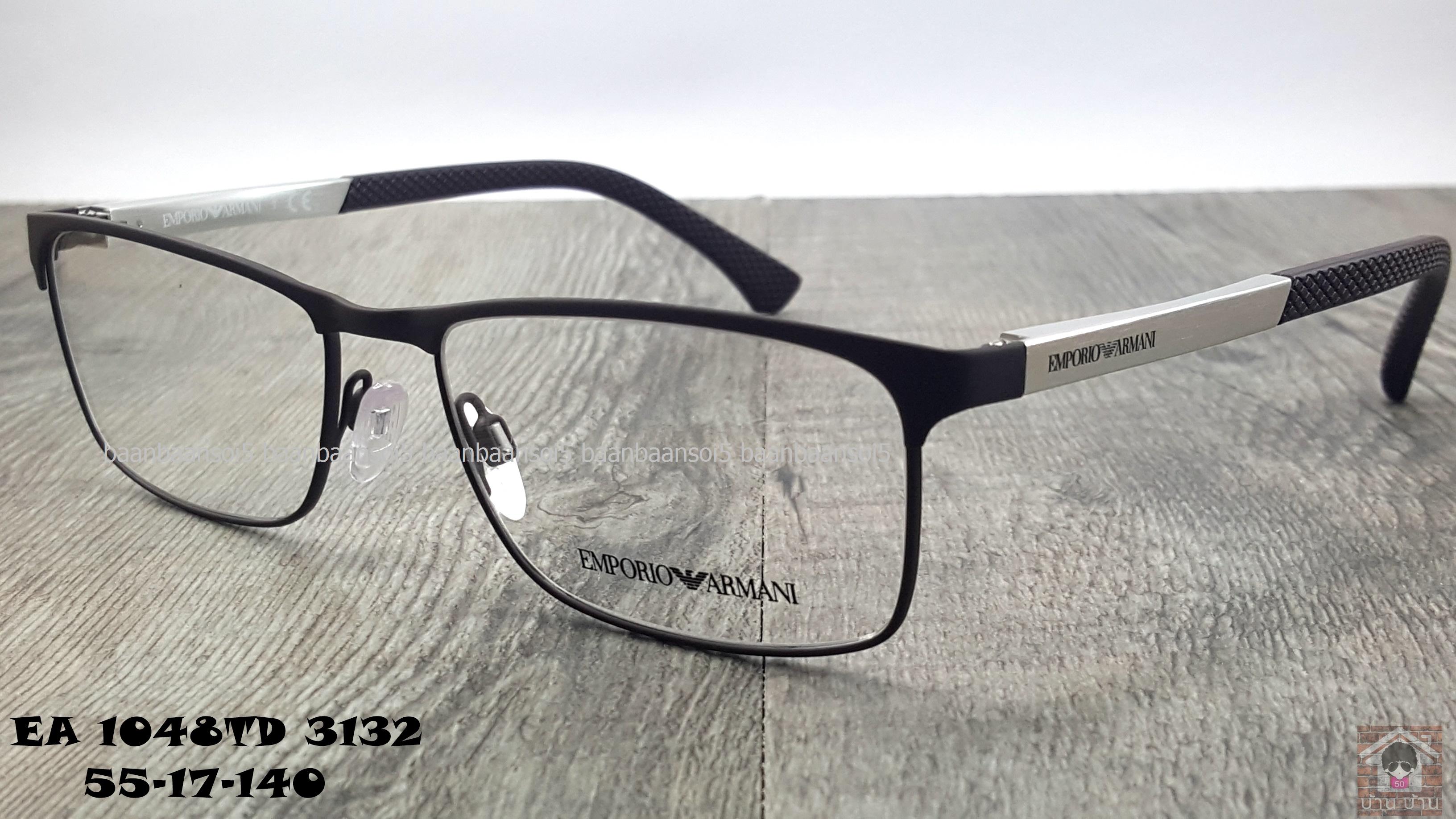 Empoiro Armani EA 1048D 3132 โปรโมชั่น กรอบแว่นตาพร้อมเลนส์ HOYA ราคา 5,300 บาท