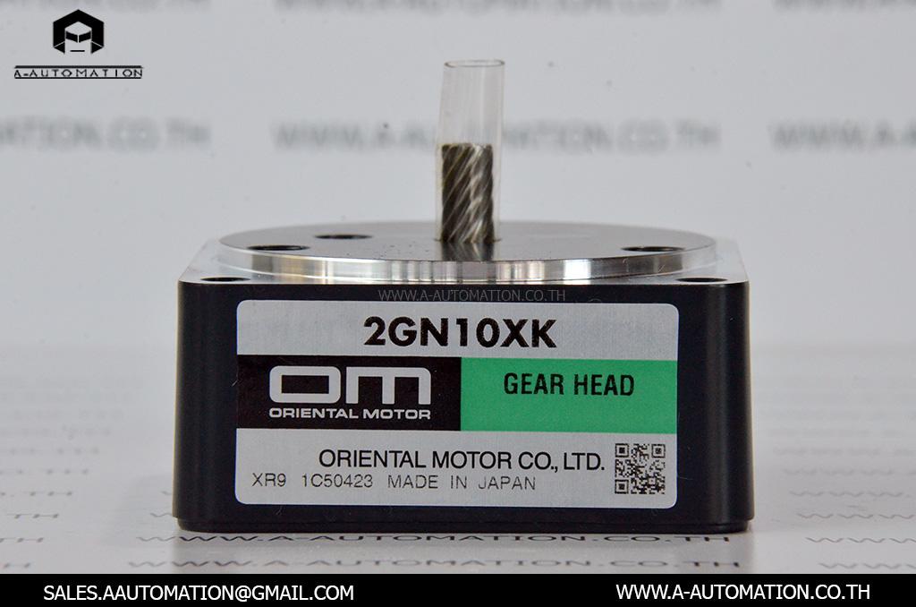 GEARHEAD MODEL:2GN10XK [ORIENTAL MOTOR]