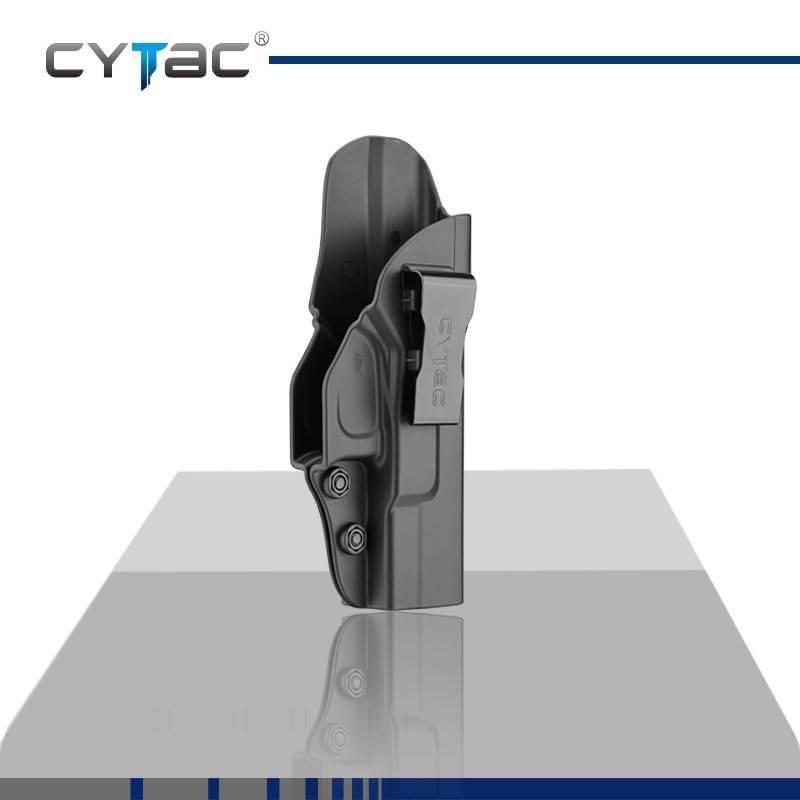 ซองปืน รุ่นI-Mini-Guard จากค่าย Cytac ของปืน Glock 27 ปืนรุ่นที่ใส่ได้ Glock 26,27,33 (Gen 1-4) ใน1ชุด มีซองปืนเหน็บใน