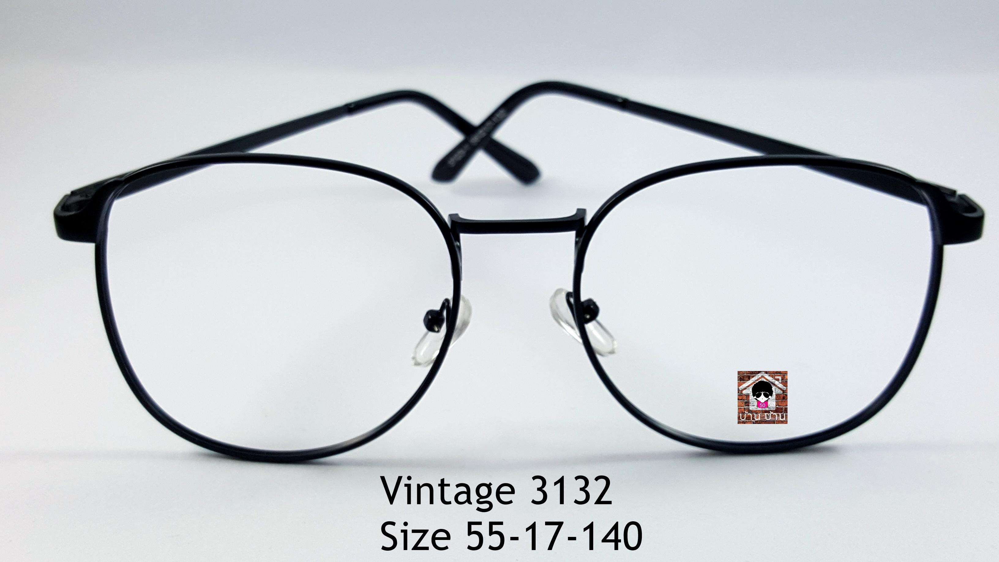 Vintage 3132 โปรโมชั่น กรอบแว่นตาพร้อมเลนส์ HOYA ราคา 790 บาท