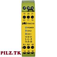 PilZ 774350 P2HZ X3 24VDC 2n/o 1n/c LiNE iD : PILZ.TK
