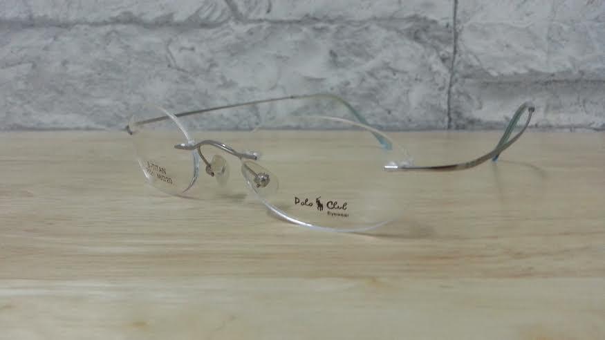 POLO club 221 กรอบแว่นตาพร้อมเลนส์ มัลติโค๊ตHOYA ป้องกันรังสีคอม