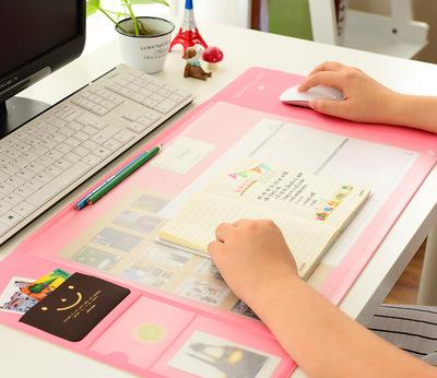 DESK MOUSE MAT ตัวช่วยจัดระเบียบบนโต๊ะทำงาน