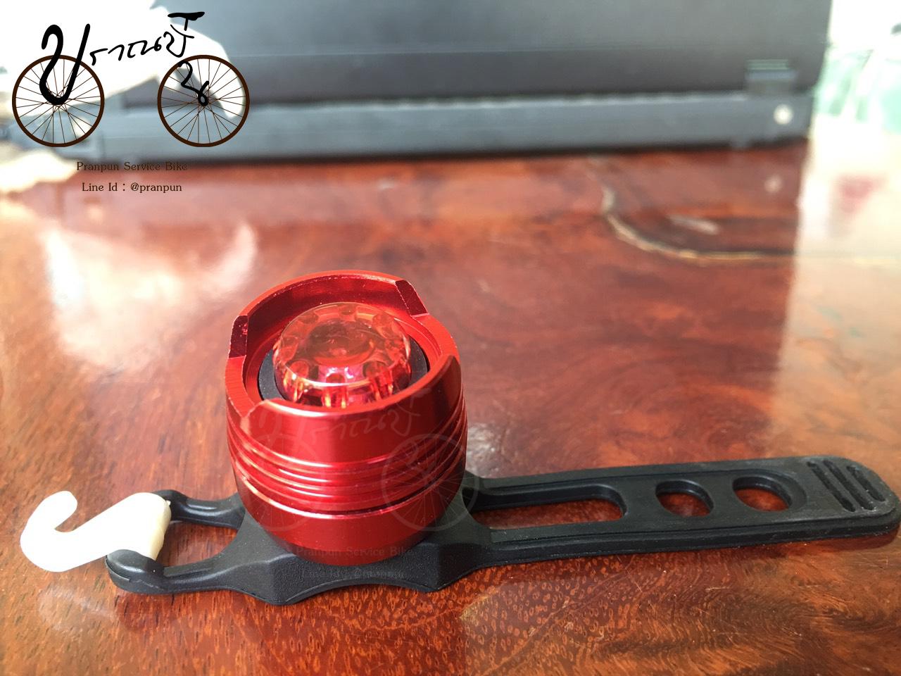 ไฟท้าย LED แบบกลม(ใส่ถ่าน)