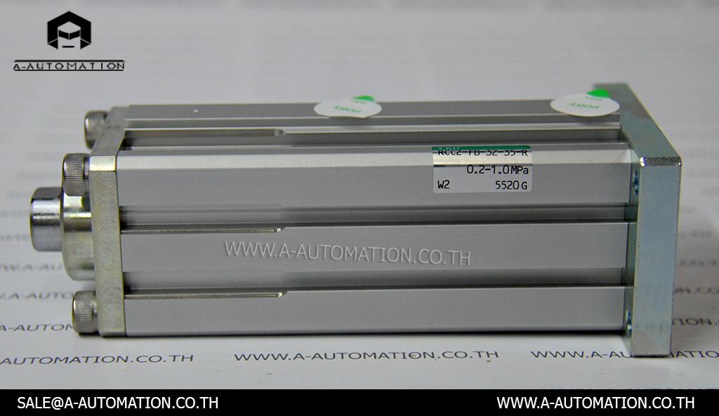 กระบอกลมคอมแพค CKD Model: RCC2-FB-32-35-R