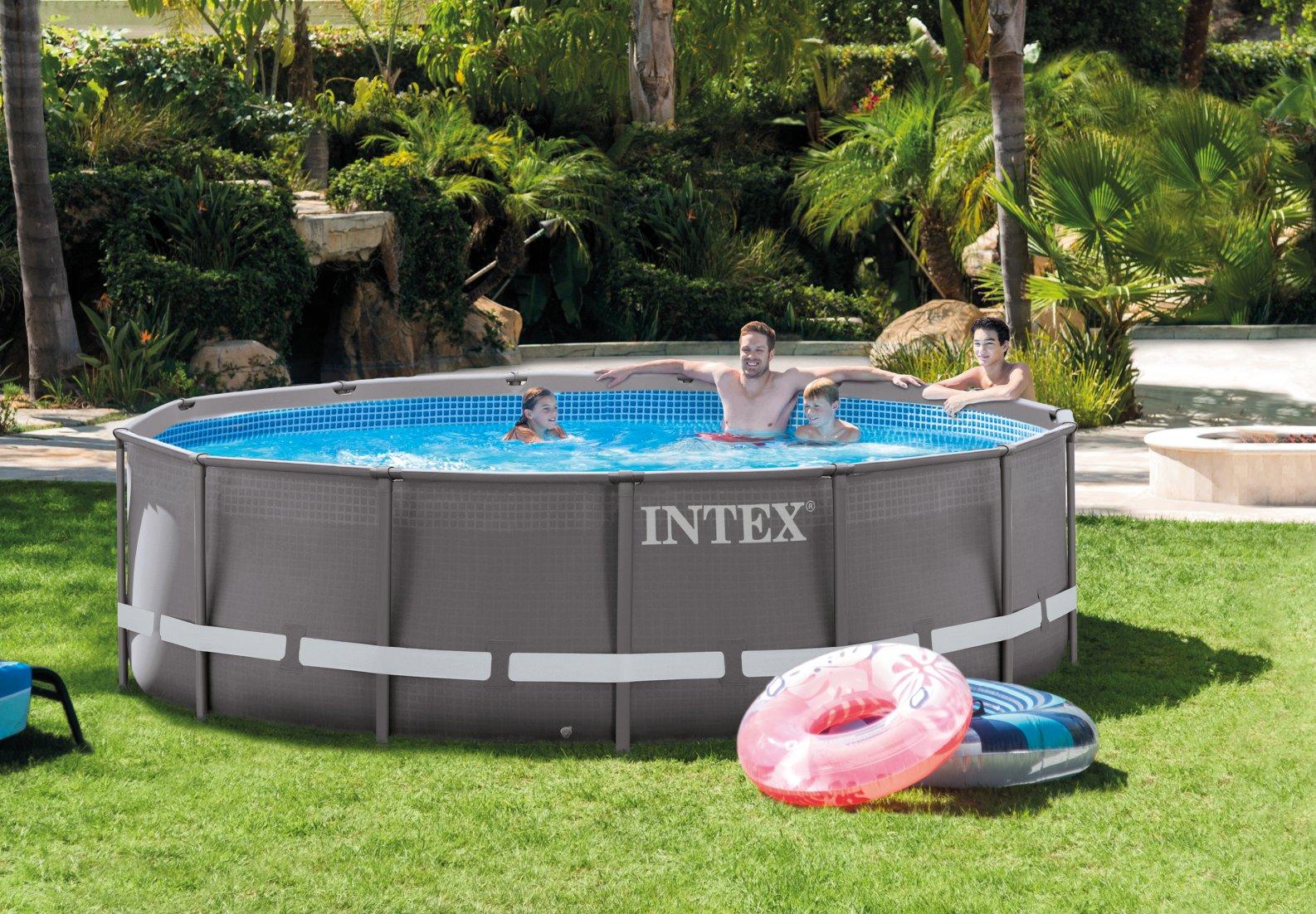 สระว่ายน้ำสำเร็จรูป Intex Ultra frame