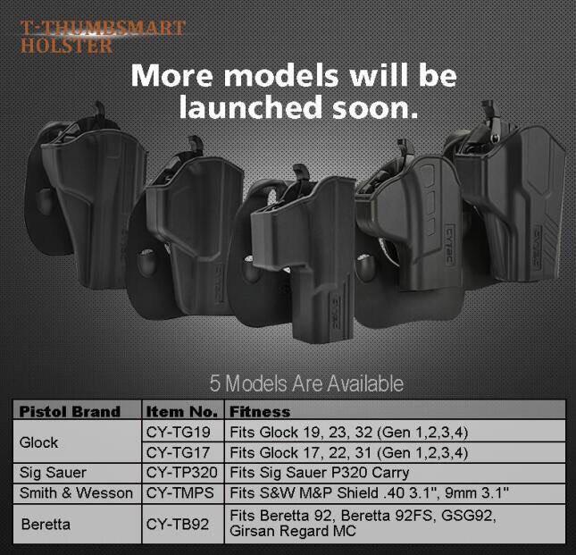 New.Fits Glock 17 Gen4 | Glock 17, 22, 31 (Gen 1,2,3,4) ราคาพิเศษ