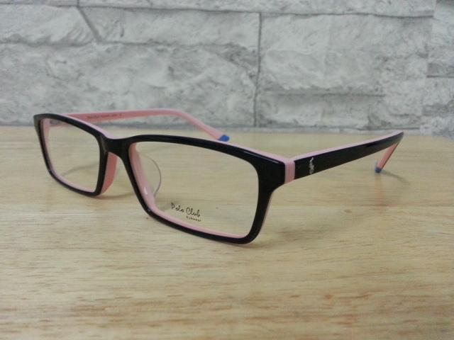 POLO club pc 5558A กรอบแว่นตาพร้อมเลนส์ มัลติโค๊ตHOYA ป้องกันรังสีคอม