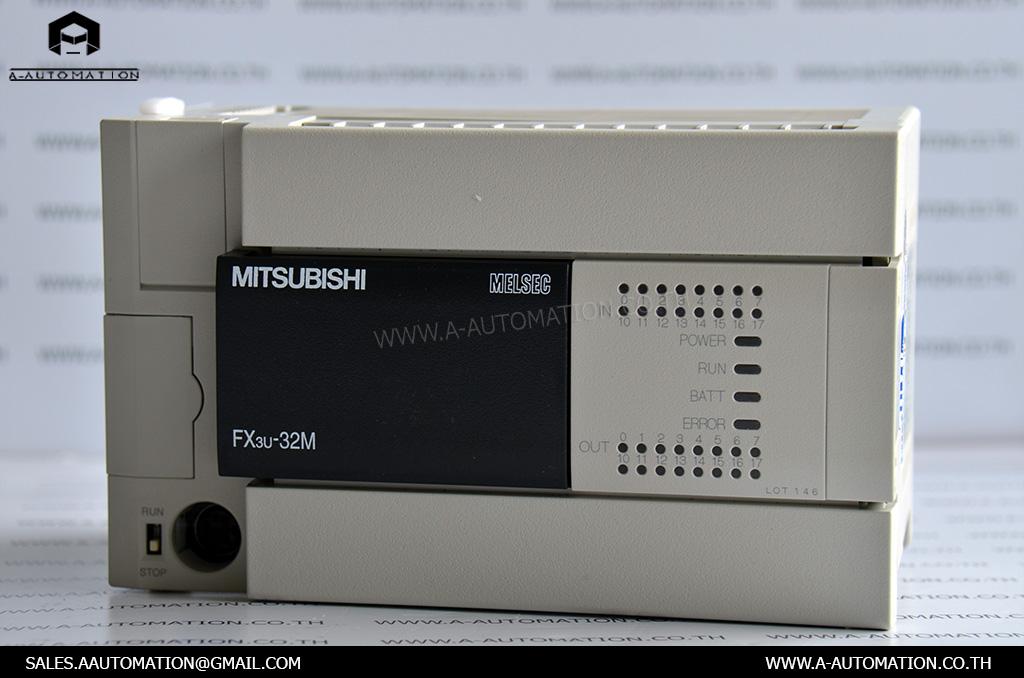 PLC MODEL:FX3U-32MT/ES-A [MITSUBISHI]