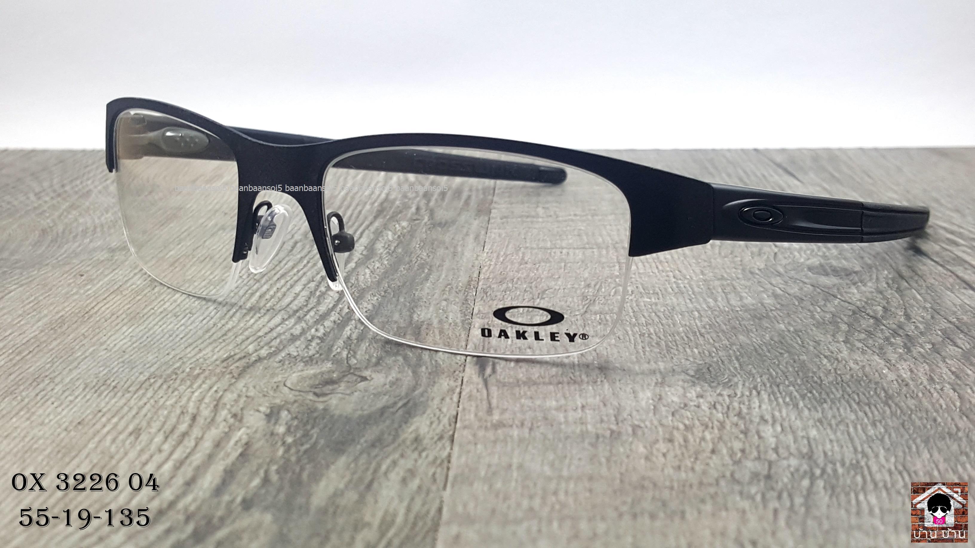 OAKLEY OX3226-04 Crosslink 0.5 โปรโมชั่น กรอบแว่นตาพร้อมเลนส์ HOYA ราคา 5,500 บาท