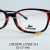 LACOSTE L2760A 214 โปรโมชั่น กรอบแว่นตาพร้อมเลนส์ HOYA ราคา 4,900 บาท