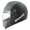 SHARK S600 PINLOCK TERROR Mat Black anthrac white KAW/HE2412