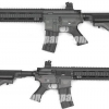 HK416 บอดี้ ABS - Jing Gong F6621