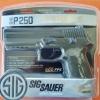 New.ปืนสั้นอัดแก๊ส SigSauerP250 เบอร์1 ✔ยิงลูกเบอร์ 1 8rd.x2 ✔ระบบSemi Auto BlowBack ✔ใช้แก๊สCo2 12gr 1 หลอด 60นัด ✅P250 .177cal. Pellets Pistol ✅Co2 12gr ✅Semi Auto ✅Steel Barrel ✅Full Metal BlowBac