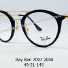 Rayban RB 7097 2000 โปรโมชั่น กรอบแว่นตาพร้อมเลนส์ HOYA ราคา 4,700 บาท