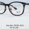 Rayban RB 7093D 2012 โปรโมชั่น กรอบแว่นตาพร้อมเลนส์ HOYA ราคา 2,900 บาท