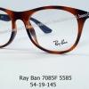 Rayban RX 7085F 5585 โปรโมชั่น กรอบแว่นตาพร้อมเลนส์ HOYA ราคา 3,900 บาท