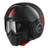 SHARK RAW TRINITY Black red black HE3005EKRK