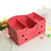 DIY box กล่องลายหัวใจ 4 ลิ้นชัก