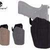New.EmersonGear RightHand 579 Gls Pro-Fit Holster. รายละเอียดสินค้า EmersonGear SafariSevenสีดำขวา579 Gls Pro-Fitซอง, WALTHER PPQ M2 9/40 (สามารถใส่100มากขึ้นปืนประเภท) คุณสมบัติ 579 Gls Pro-Fitซองโทรศัพท์ เสร็จสิ้น: Safarisevenสีดำธรรมดา มือ:ขวา ปืนพอดี: