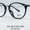 Rayban RX 7083D 2000 โปรโมชั่น กรอบแว่นตาพร้อมเลนส์ HOYA ราคา 3,400 บาท