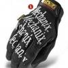 ถุงมือ Mechanix. เต็มนิ้ว สีดำ
