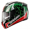 SHARK SPEED-R 2 SYKES Black Red Green KRG/HE4715