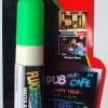ปากกาชอล์ค เรืองแสง ขนาด 10 มม. สีเขียว