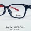 Rayban RX 5330D 5499 โปรโมชั่น กรอบแว่นตาพร้อมเลนส์ HOYA ราคา 3,400 บาท