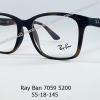 Rayban RX 7059 5200 โปรโมชั่น กรอบแว่นตาพร้อมเลนส์ HOYA ราคา 2,900 บาท