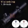 New.Scope ยิงไว Visionking 1.25-5*26 ข้อต่อ 30 mm ไฟ 2 สี สีแดง / สีฟ้า ราคาพิเศษ